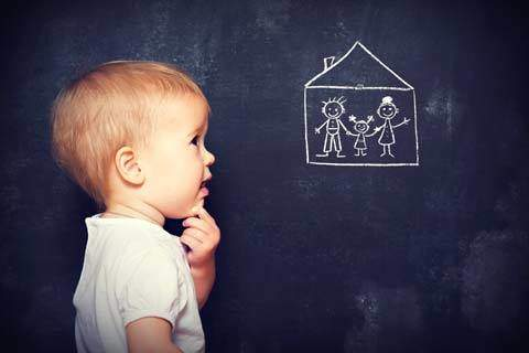 Adoption Subsidy Chalkboard